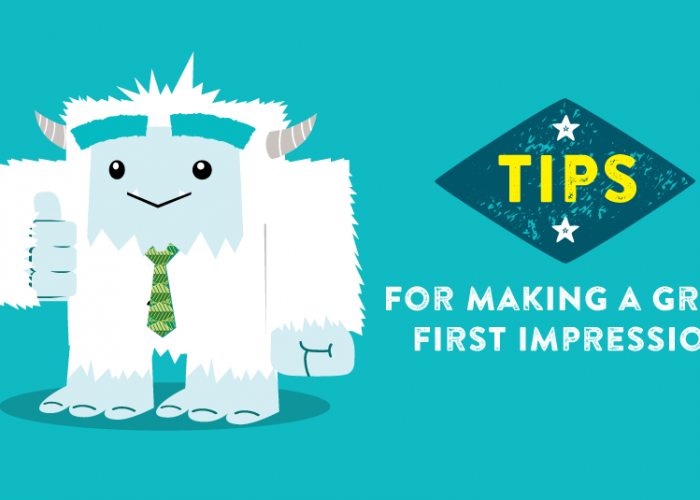 Tips for making a great first impression at a job interview