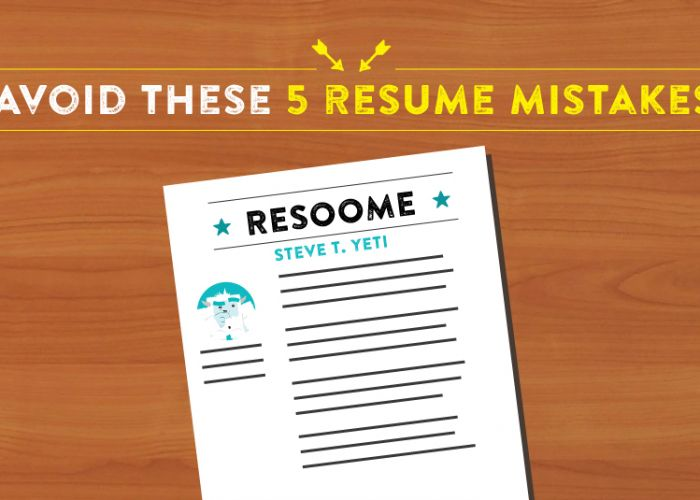 Is Your Resume Holding You Back? Avoid These 5 Mistakes