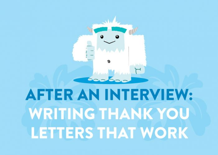 After an Interview: Writing Thank You Letters that Work