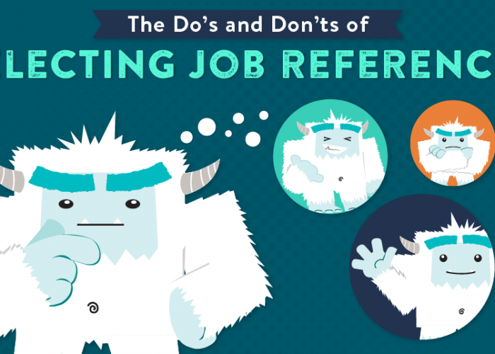 The Do's and Don'ts of Selecting Job References